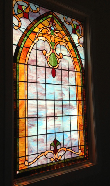 Stained Glass At The First United Methodist Church - Blackwell, Texas