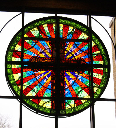 Stained Glass At The Arlington Heights United Methodist Church - Fort Worth, Texas