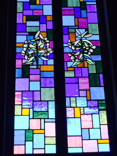 Stained Glass At The First Presbyterian Church Of New Braunfels, Texas